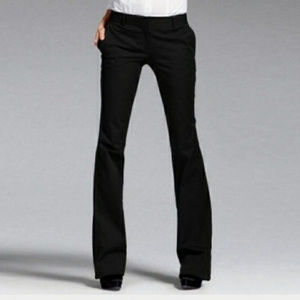 Body By Victoria The Kate Fit Black Career Pants